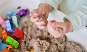Следы на песке или домашняя песочная терапия