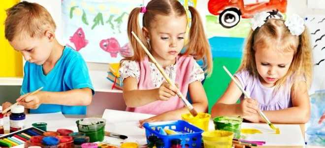 Изобразительные технологии в творческом развитии дошкольников