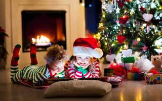Как весело провести Новый год дома с детьми 2-3 лет