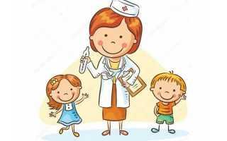 График медицинских осмотров детей после летнего отпуска