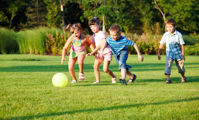 Использование подвижных игр в воспитании детей